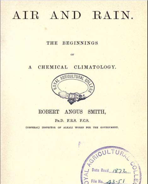 Air and Rain 1872
