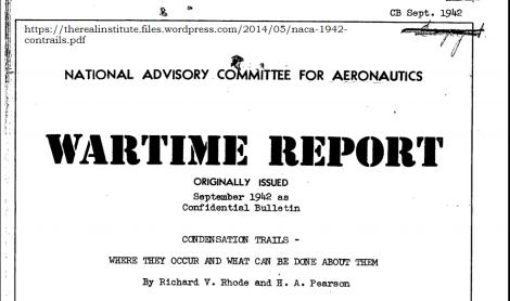 Contrails 1942